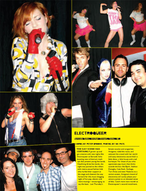 Qx Magazine Reviews Electroqueer At Barcode Eq Music Blog